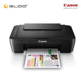"""Canon Pixma E410 AIO Inkjet Printer - Black [Free Canon GP-501 Glossy Photo Paper 4"""" x 6"""" (10 Sheets)]"""