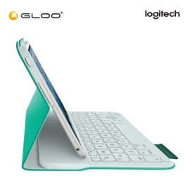 Logitech Ultrathin Keyboard Folio for iPad® mini – Green Leash 920-006004