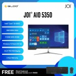 "JOI AIO 5350 (i5-9400/8GB/512GB SSD/W10H/23.8""/Black) Free Wired USB Keyboard+Mouse"