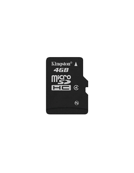 Kingston 4GB Micro SD Card (Waterproof, 4MB/s minimum data transfer rate, Compatible with microSD host devices)