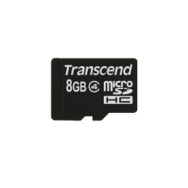 Transcend 8GB Micro SD Card (Exclusive RecoveRx photo recovery software, Error Correcting Code (ECC), Complies with SD 2.0 specifications)