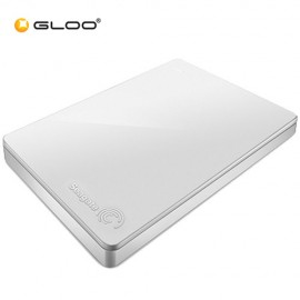 Seagate Backup Plus Portable Drive 2TB - White STDR2000306 FREE Hard Pouch Casing