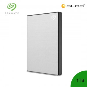 Seagate Backup Plus Portable Drive Silver 1TB - STHN1000401