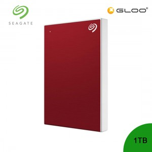 Seagate Backup Plus Portable Drive Red 1TB - STHN1000403  [FOC RM30 BHP Voucher 1/1/2020 - 31/1/2020*While Stock Last]