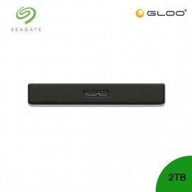 Seagate Backup Plus Portable Drive Black 2TB - STHN2000400 FREE Seagate Pouch