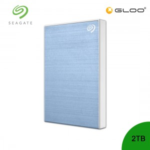 Seagate Backup Plus Portable Drive Light Blue 2TB - STHN2000402