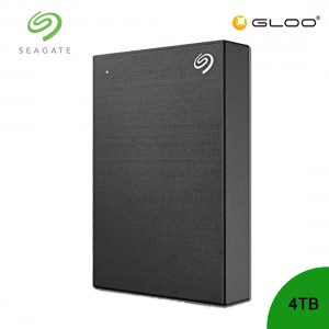 Seagate Backup Plus Portable Drive Black 4TB - STHP4000400
