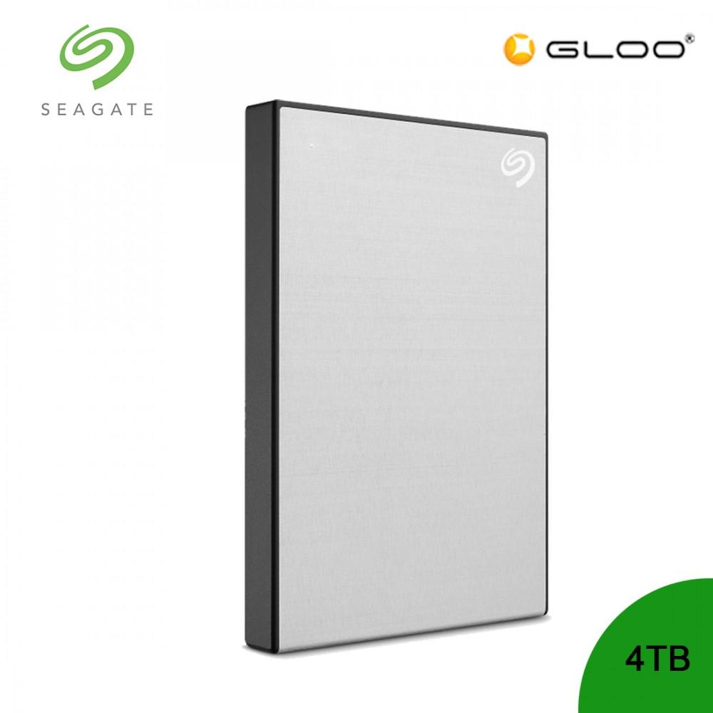 Seagate Backup Plus Portable Drive Silver 4TB - STHP4000401