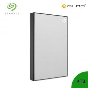 Seagate Backup Plus Portable Drive Silver 4TB - STHP4000401  [FOC RM30 BHP Voucher 1/1/2020 - 31/1/2020*While Stock Last]