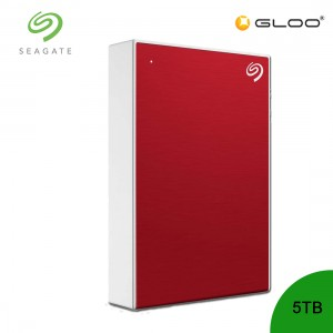Seagate Backup Plus Portable Drive Red 5TB - STHP5000403  [FOC RM30 BHP Voucher 1/1/2020 - 31/1/2020*While Stock Last]