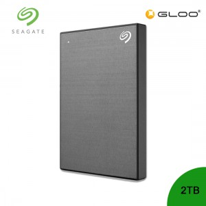 Seagate Backup Plus Portable Drive Space Grey 2TB - STHN2000405