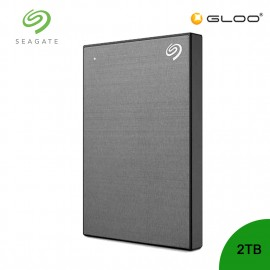 Seagate Backup Plus Portable Drive Space Grey 2TB - STHN2000406