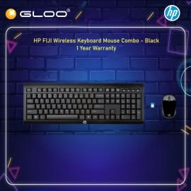 HP FIJI Wireless Keyboard and Mouse Combo - Black