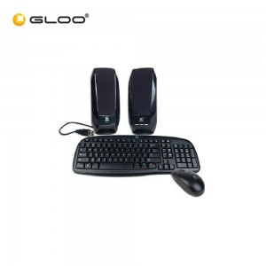 Logitech Deluxe Desktop Combo Black (920-00967)