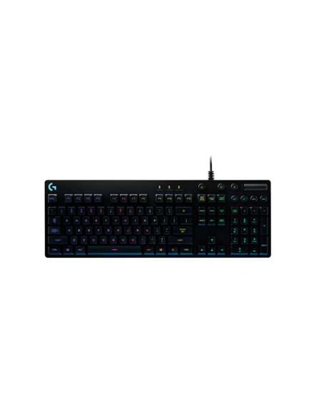 Logitech G810 Orion Spectrum RGB Mechanical Gaming 920-007739 Keyboard - Black
