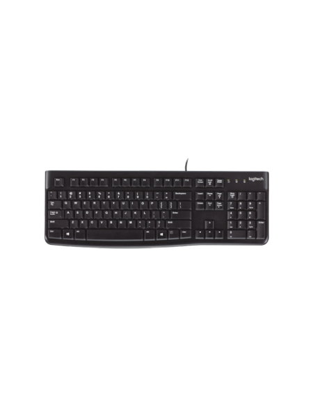 Logitech K120 USB 920-002478 Keyboard - Black