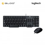 Logitech Media Keyboard Mouse Combo MK100