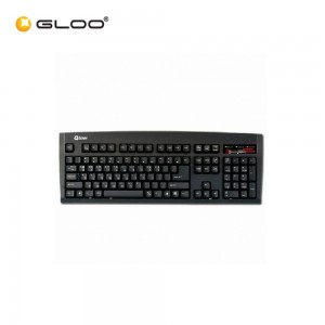Qsenn PS2 Black Keyboard