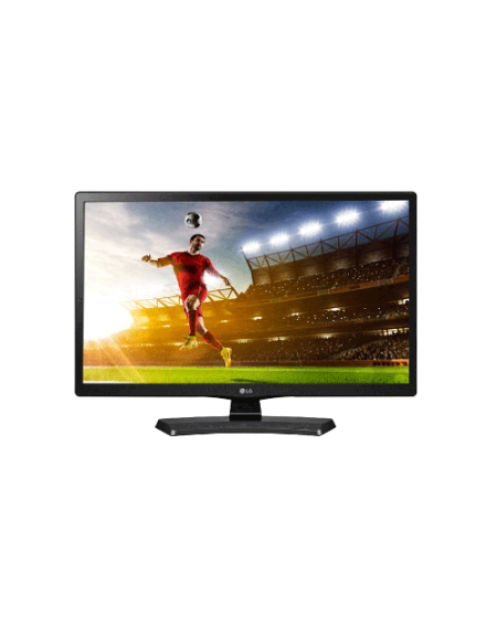 """LG 24MT48AFLG 24"""" HD TV Monitor - Black"""