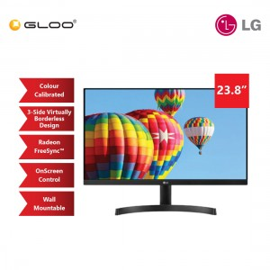 "LG 24"" IPS FHD 75Hz Slim Bezel FreeSync Monitor [24MK600M]"