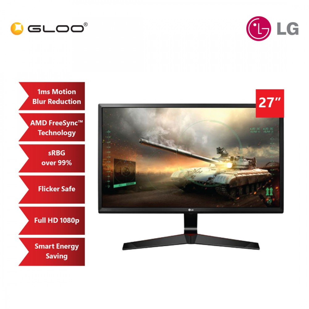 "LG 27"" IPS FHD 75Hz FreeSync Gaming Monitor [27MP59G]"
