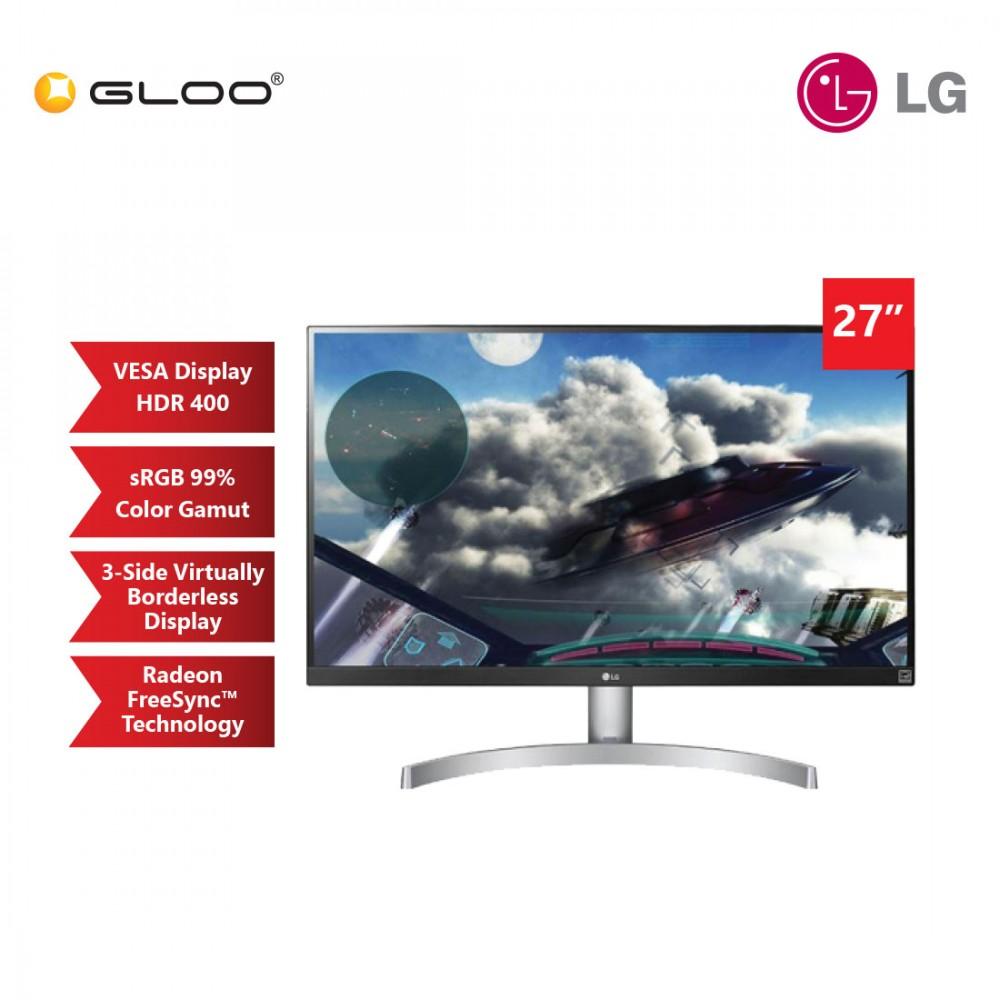 "LG 27"" IPS UHD 4K HDR400 FreeSync Monitor [27UL600]"