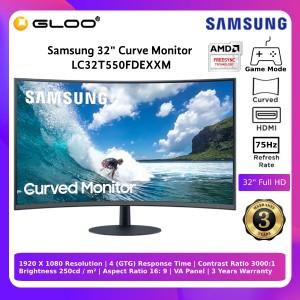 "Samsung 32"" Curve Monitor LC32T550FDEXXM"