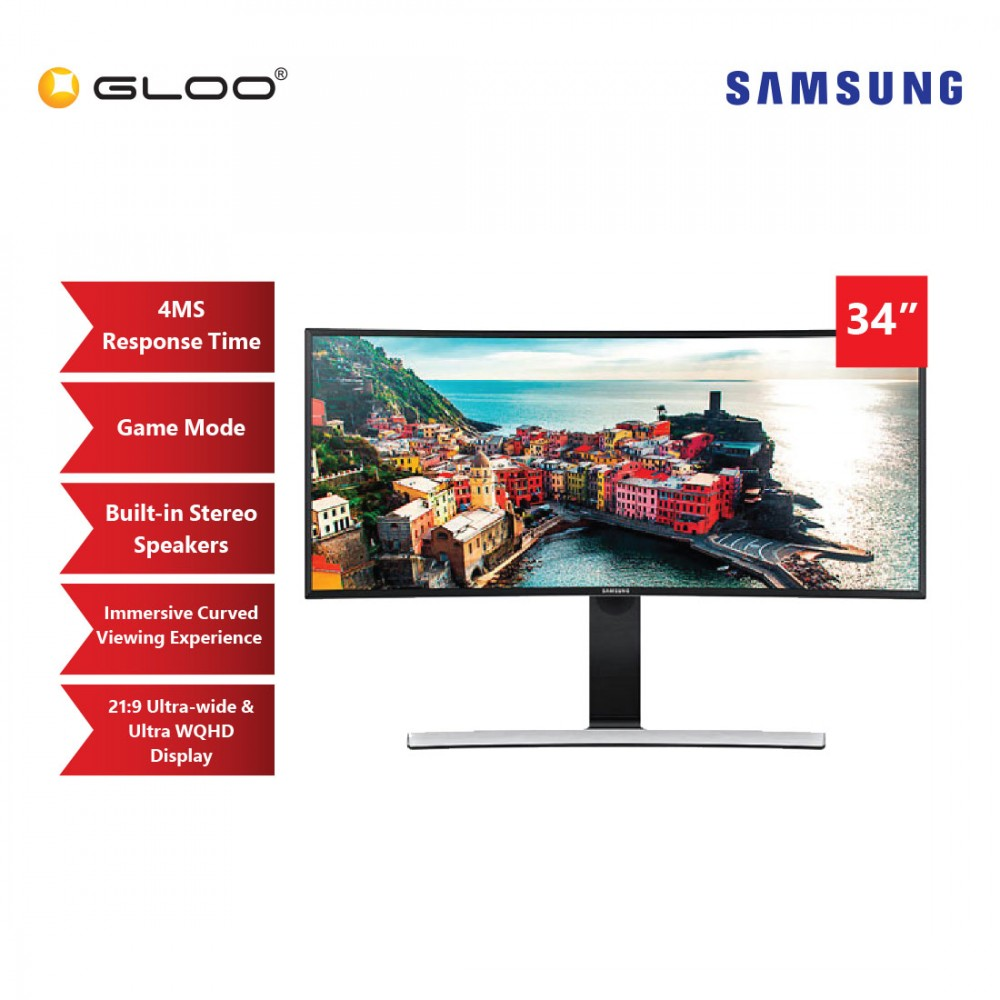 "Samsung 34"" LED Monitor LS34E790CNS"
