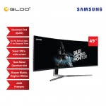 "Samsung 49"" Curved QLED Gaming Monitor LC49HG90DMEXXM"