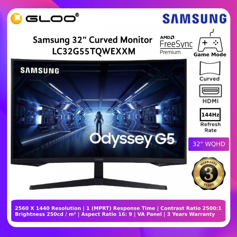 Samsung Odyssey G5 32'' Gaming Monitor (LC32G55TQWEXXM)