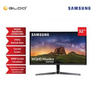 "Samsung 32"" Curved 144Hz WQHD Gaming LED Monitor LC32JG50QQEXXM"