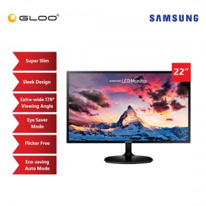 "Samsung 22"" Full HD LED Monitor with Slim Depth Design"