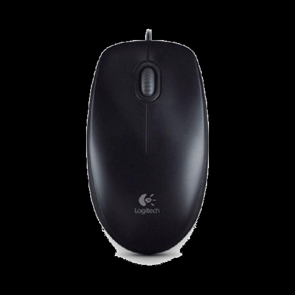 Logitech M100R USB 910-005005 Mouse - Black