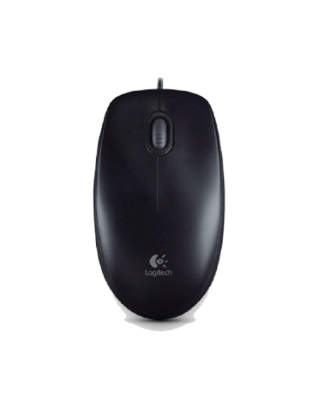 Logitech M100R USB 910-005005 Mouse - Black