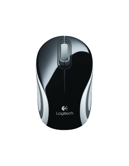 Logitech M187 Wireless 910-002726 Mouse - Black