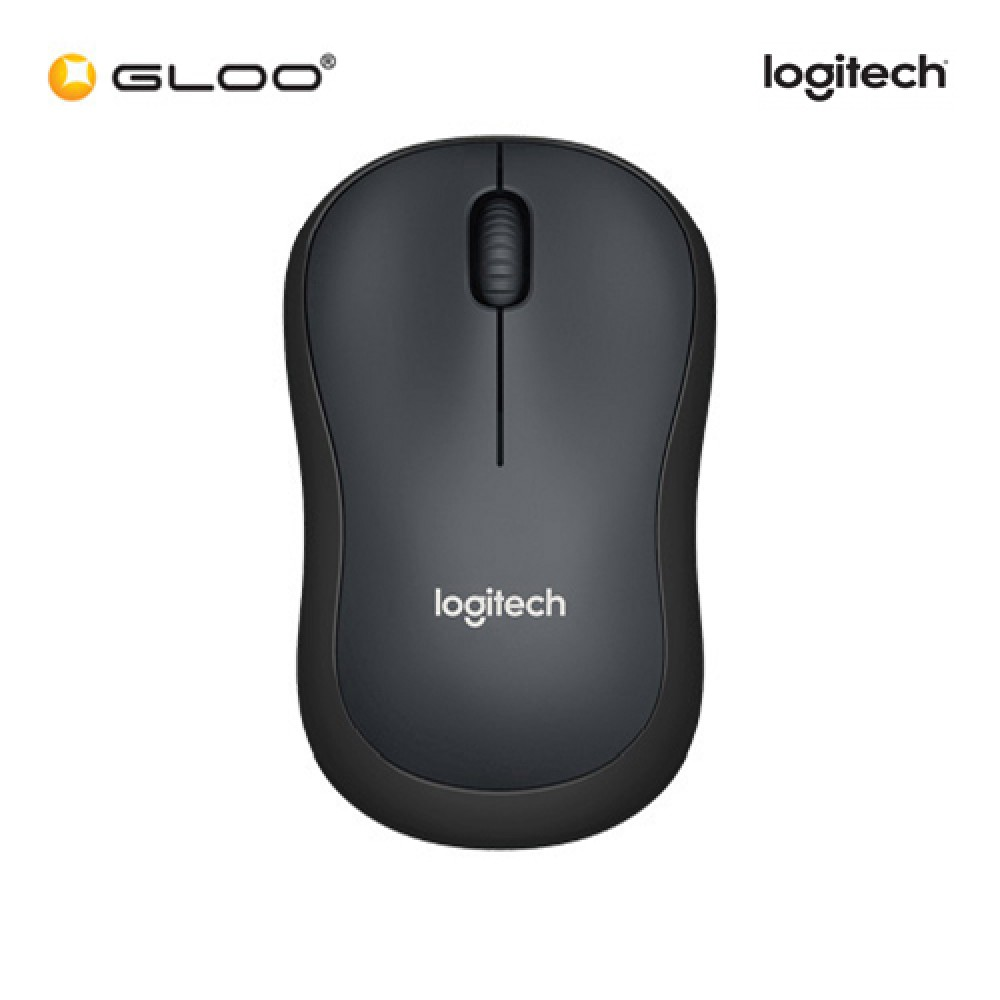 Logitech® M221 Silent Wireless 910-004882 Mouse - Charcoal Black