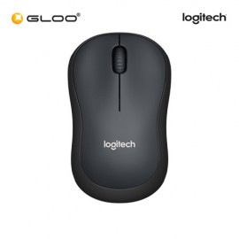 Logitech® M221 Silent Wireless 910-004882 Mouse - Charcoal Black