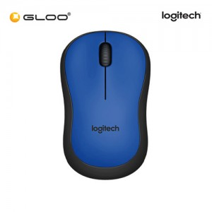 Logitech® M221 Silent Wireless 910-004883 Mouse - Blue