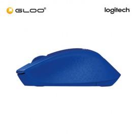 Logitech® M331 Silent Plus 910-004915 Mouse - Blue