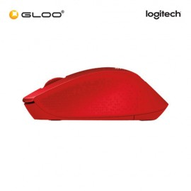 Logitech® M331 Silent Plus 910-004916 Mouse - Red