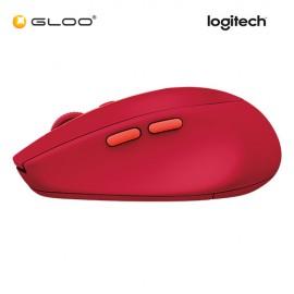 Logitech M590 Multi Device Silent Ruby