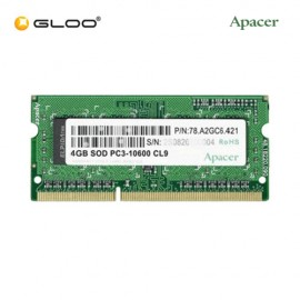 Apacer 4GB DDR3 1600 Sodimm RAM - Green