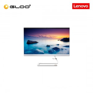 """Lenovo IdeaCentre AIO 3 24IMB05 F0EU00RAMI (i3-10100T,4GB,256GB SSD,Integrated,23.8""""FHD,H&S,W10,Wht) [FREE] Pre-installed with Microsoft Office Home and Student 2019 + Lenovo Keyboard and Mouse"""