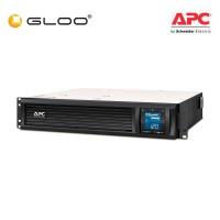 APC Smart-UPS C 1500VA LCD RM 2U 230V with SmartConnect SMC1500I-2UC - Black