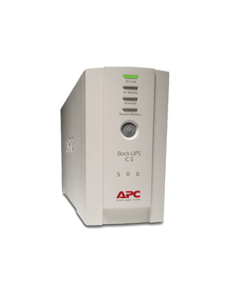 APC Back-Ups BK500EI Power Supply (500VA) - Beige