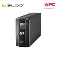 APC Back UPS Pro BR 650VA, 6 Outlets, AVR, LCD Interface BR650MI - Black