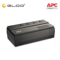 APC EASY UPS BV 650VA, AVR, Universal Outlet, 230V BV650I-MS - Black
