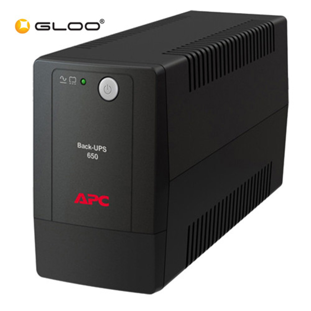 APC Back-UPS 650VA 230V, AVR, Universal Sockets BX650LI-MS - Black
