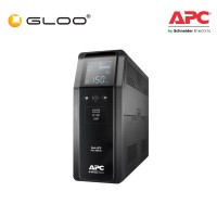 APC Back UPS Pro BR 1600VA, Sinewave, 8 Outlets, AVR, LCD Interface BR1600SI - Black