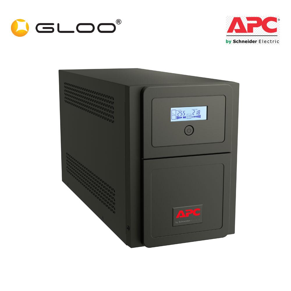 APC Easy UPS SMV 1500VA, Universal Outlet, 230V SMV1500AI-MS - Black